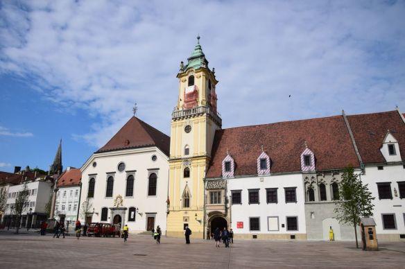 ancien hôtel de ville Bratislava