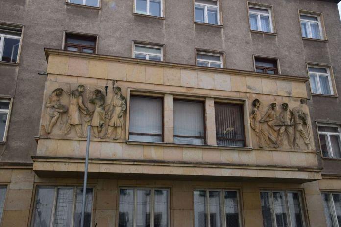 travailleurs à l'ouvrage Bratislava