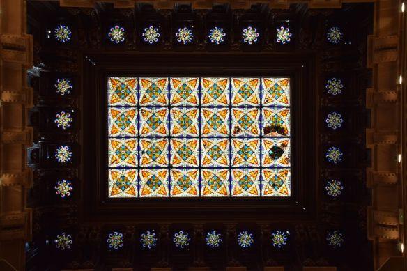 vitraux palais sobrellano comillas