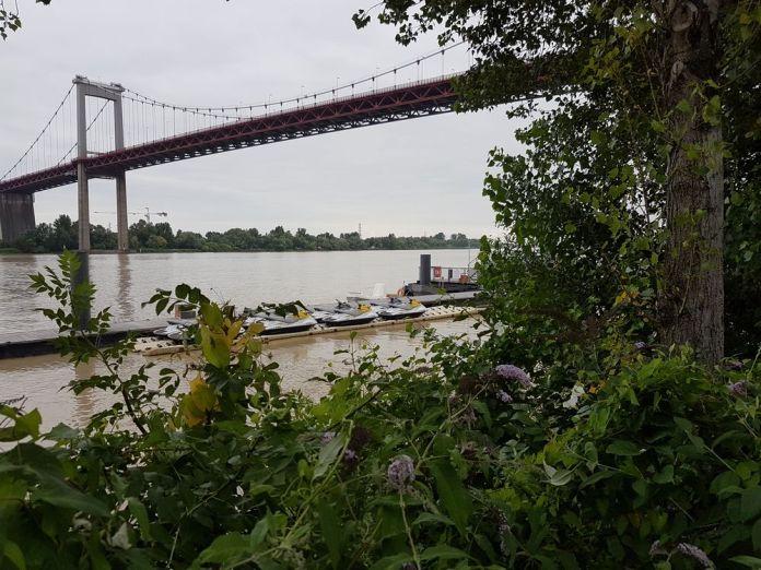 pont d Aquitaine depuis Lormont