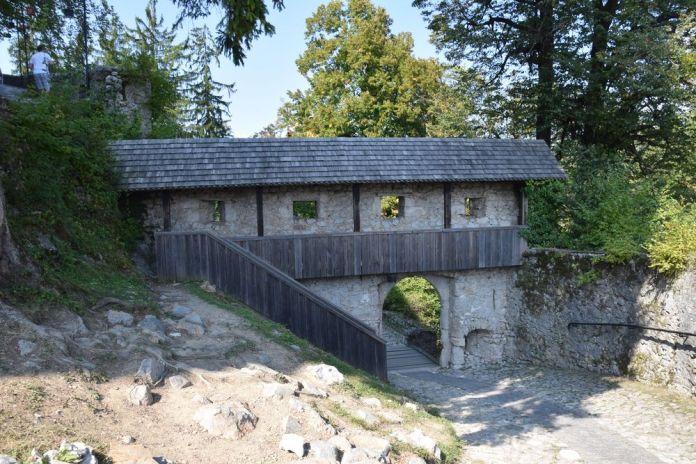 fortifications château de bled slovénie