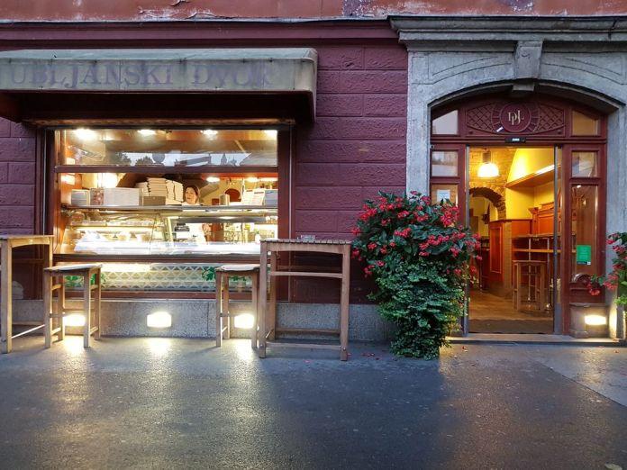 pizzeria ljubljana slovénie
