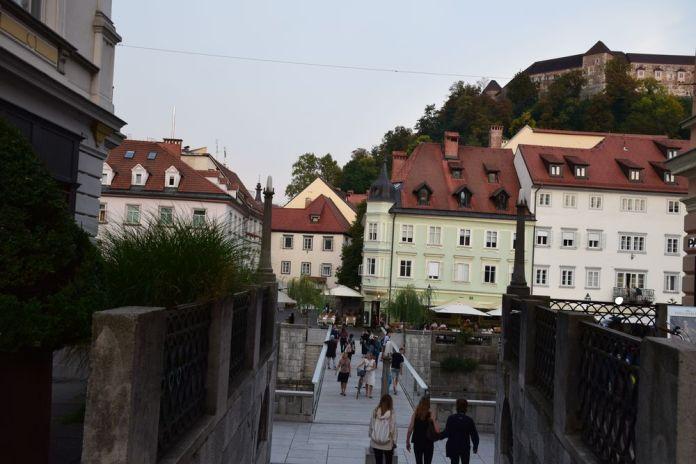 ljubljanica pont et château