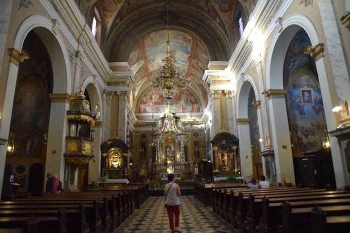 église franciscaine sainte marie de l'annonciation Ljubljana