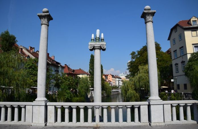 ljubljanica nature et pont