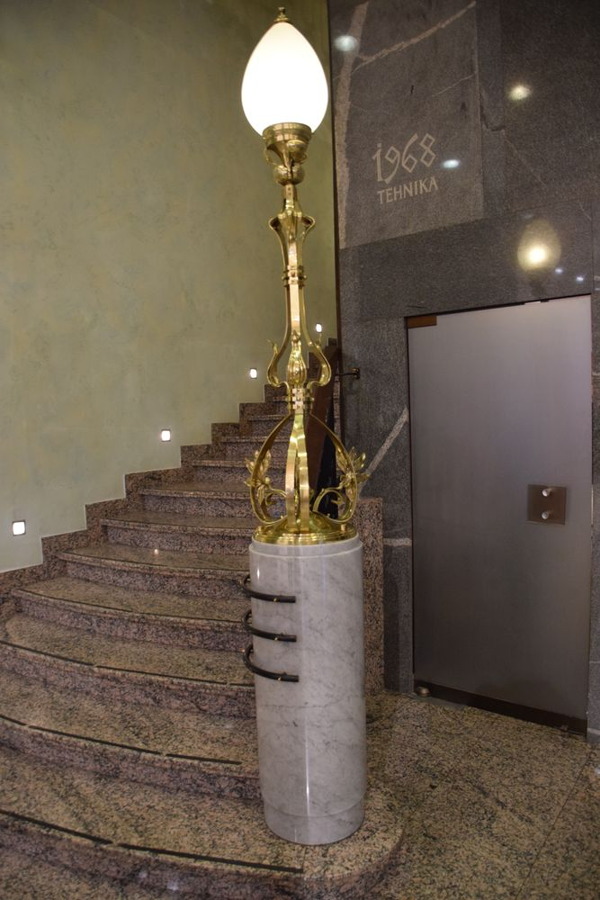 luminaire grand hôtel union ljubljana