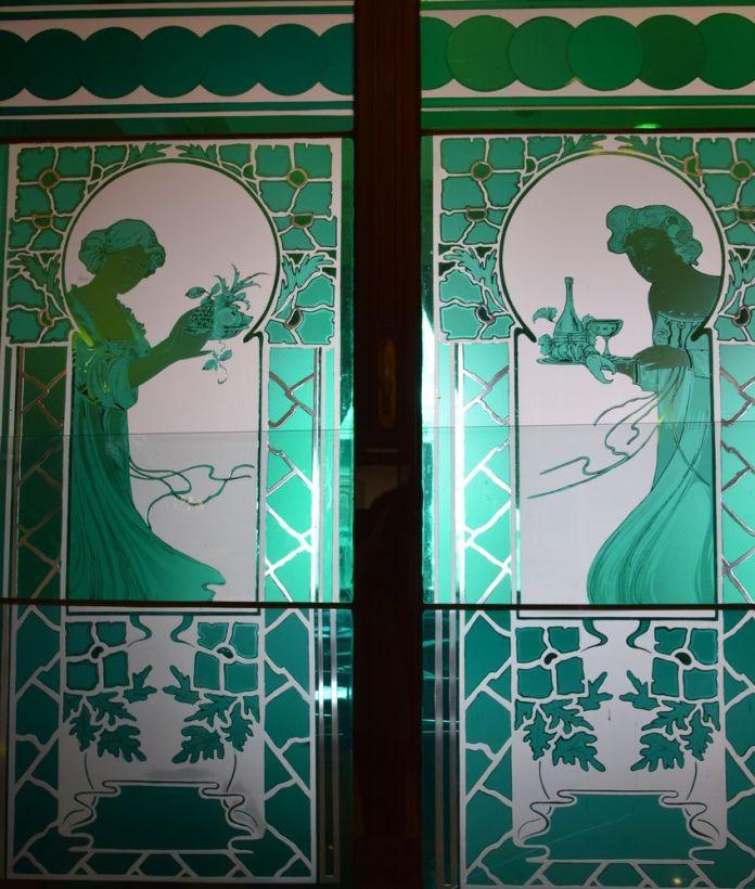 vitrail grand hôtel union ljubljana