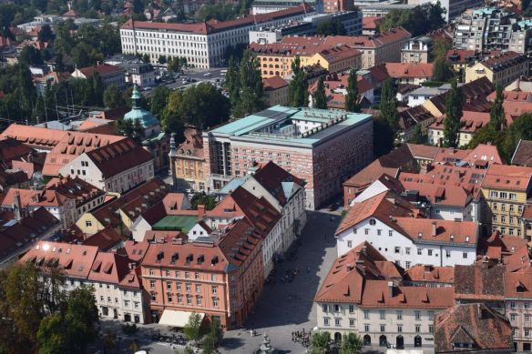 immeuble Plecnik ljubljana
