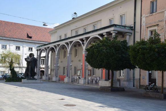 Bâtiment à arcades de kranj