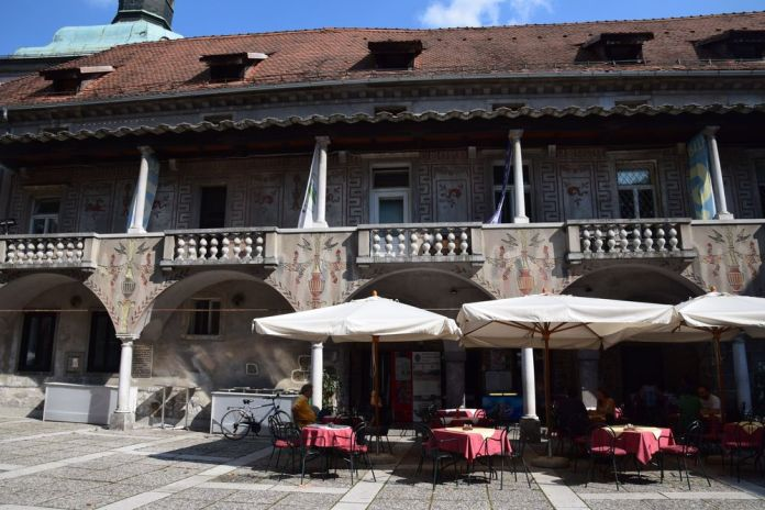 couvent réaménagé par plecnik ljubljana