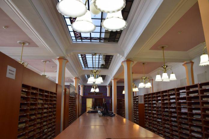 intérieur banque coopérative Ljubjljana