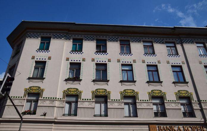 ancienne banque agricole de Ljubljana
