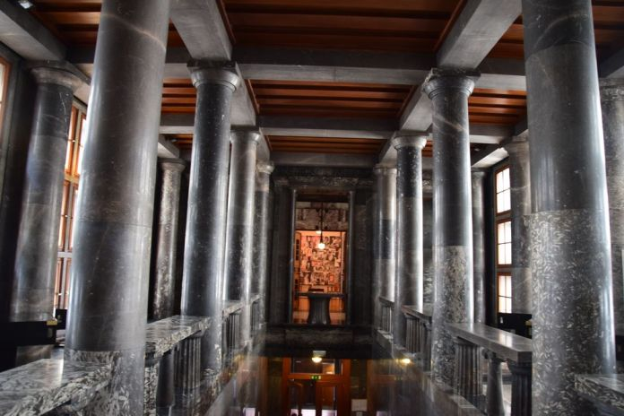 premier étage bibliothèque ljubljana