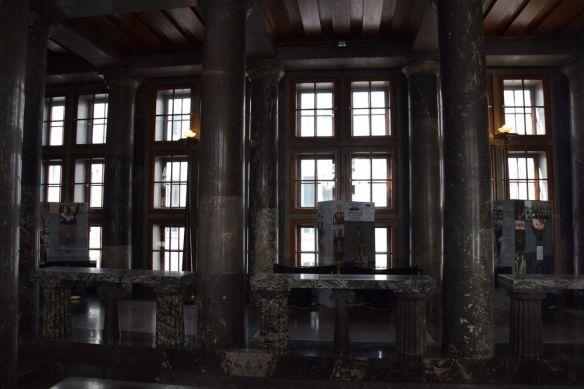 jeu de colonnes bibliothèque Ljubljana