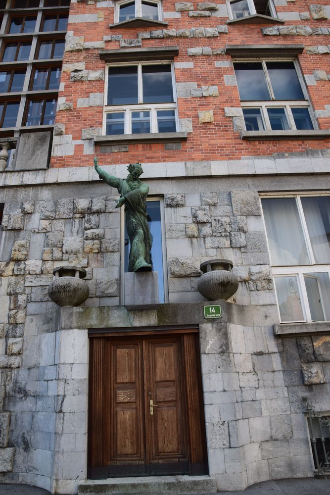 porte latérale bibliothèque ljubljana