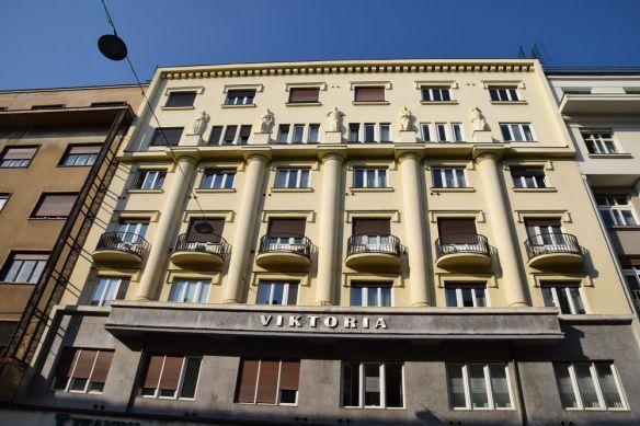 s'orientant vers l'Art déco un immeuble de Ljubljana