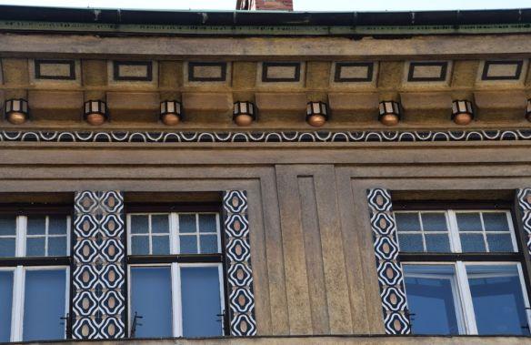 raffinement détails de l'avant-toit maison allemande ljubljana