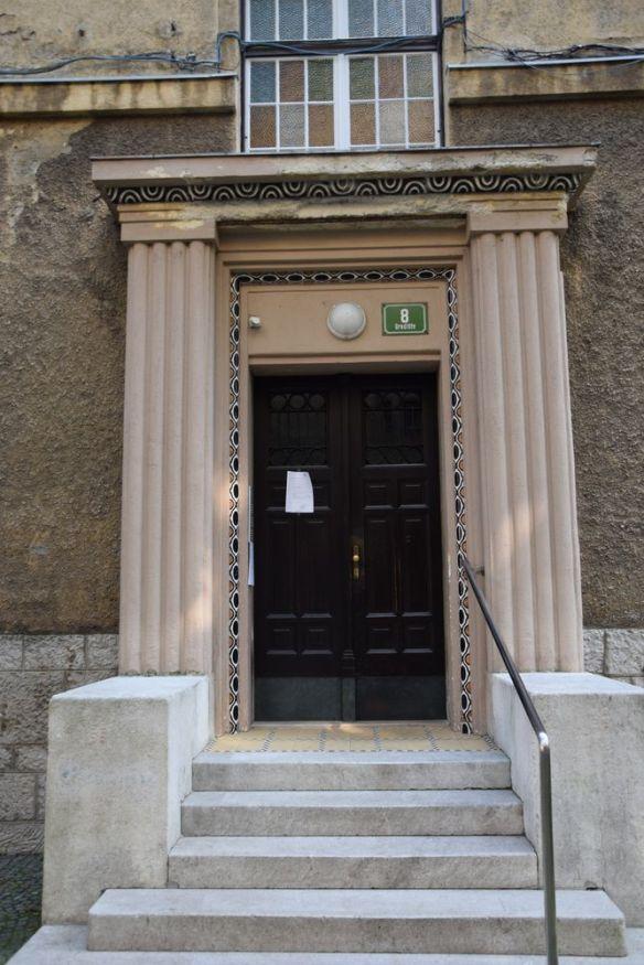 porte d'entrée gradisce ulica ljubljana