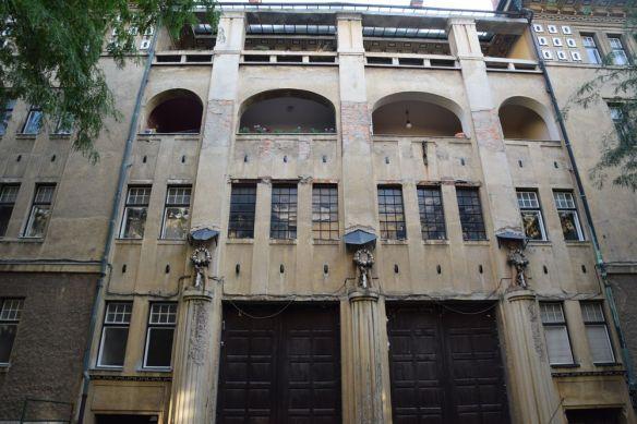 façade maison allemande côté gradisce ulica ljubljana