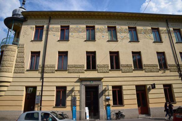maison krisper à Ljubljana