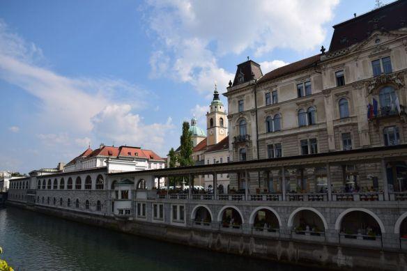 marché côté ljubljanica