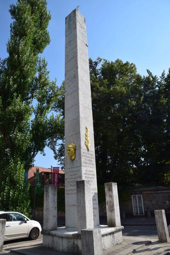 obélisque à Napoléon à ljubljanan