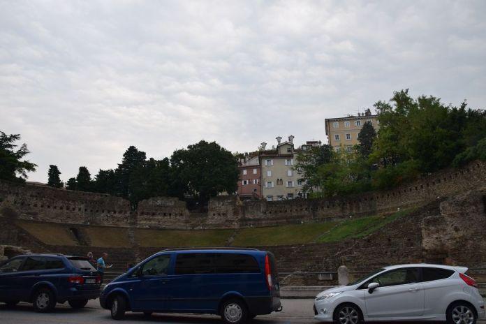 ancien théâtre romain de Trieste