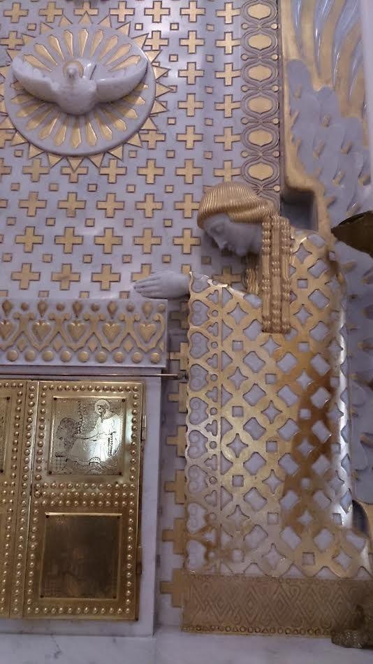 détail chapelle résidence de l'évêque trieste