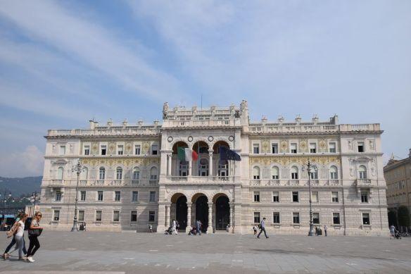palais du gouvernement à trieste