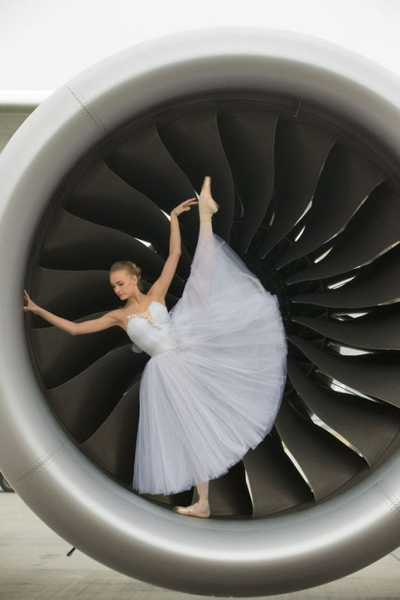 Olga Marchenkova du Bolshoi British Airways