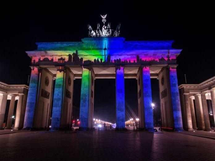 porte de brandebourg berlin festival des lumières