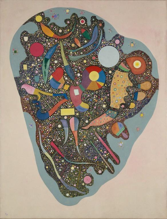 Entassement réglé 1938, Vassiyl Kandinsky