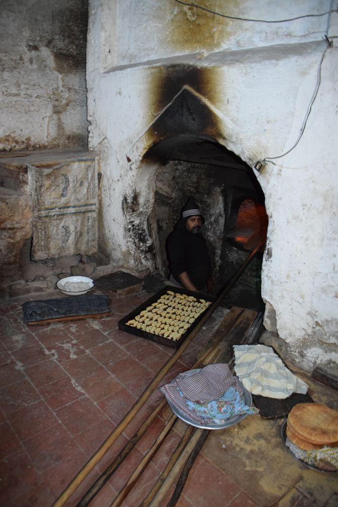 four à pain Médina de Fès