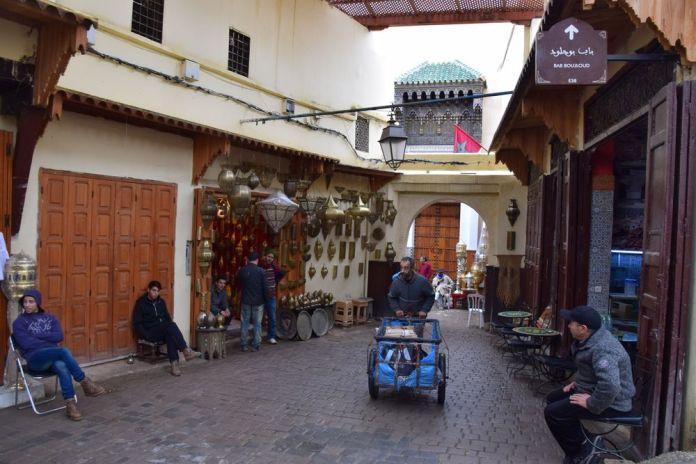 chariot Médina de Fès