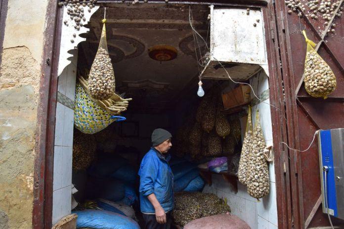 marchand d'escargots Médina Fès