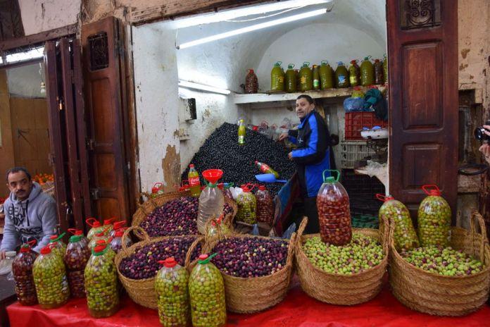 marchand d'olives Médina de Fès