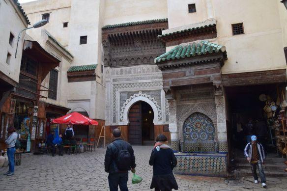 place Saha complexe Nejjarine Médina de Fès