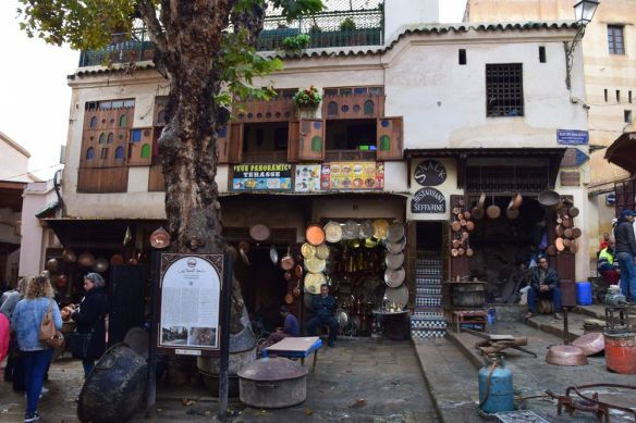 Place Seffarine Medina de Fès