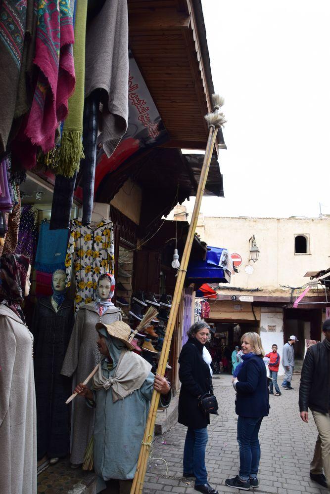 Plumeaux Médina Fes Maroc