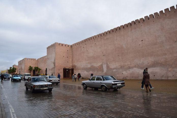 remparts de la Cité Impériale Meknès