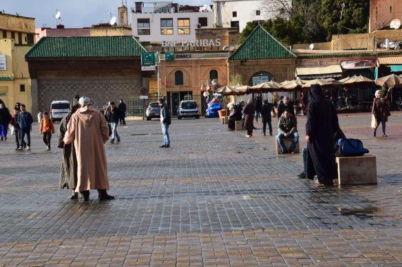 place El Hedime à Meknès