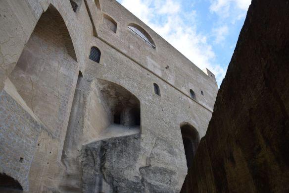 Sant'Elmo forteresse impressionnante Naples
