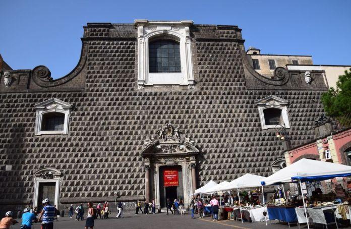 Eglise Gesu Nuovo Naples