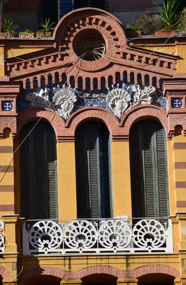 fer forgé briques mosaïques Liberty Gran Hotel Eden