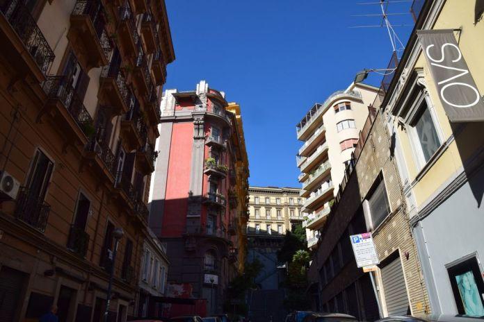 partie basse Palazzo Acquaviva Coppola Naples
