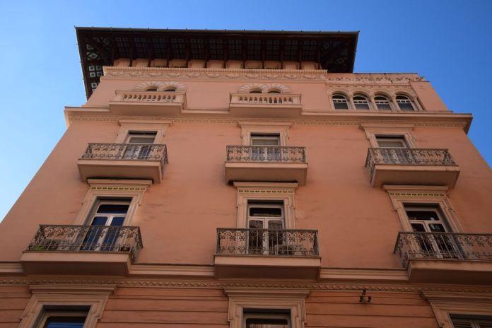 construction Liberty via san Pascuale a chiaia Naples