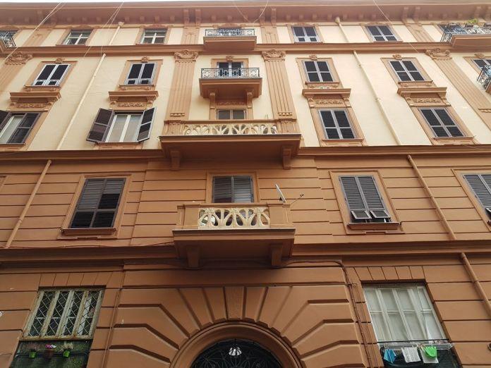 bâtiment liberty quartier historique Naples