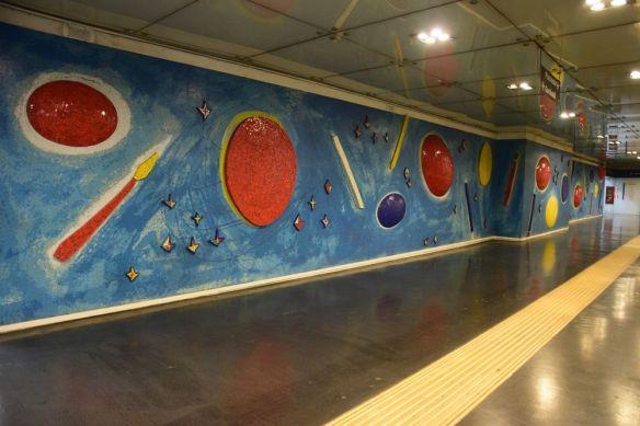 Station de métro Naples