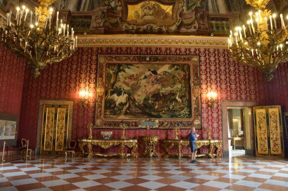 salle du Palais royal Naples