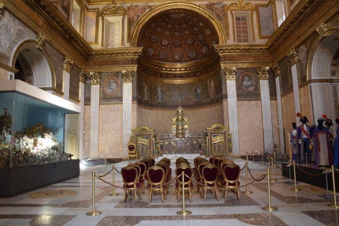 chapelle Palais royal Naples